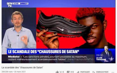 Les « chaussures de Satan »